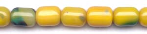 Yellow Agate Beads