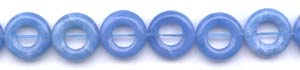 Blue Agate Beads