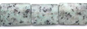 Kiwi Jasper Dime Beads