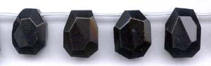 Black Obsidian Beads