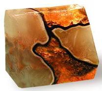 Fire Geode SoapRocks, Rockettes, PalmStones, Quarry Bars