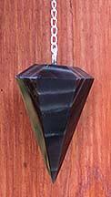 Black Obsidian Pendulums