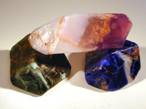 Rockettes; Malachite, Lapis Lazuli and Amethyst Soaps