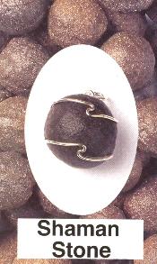 Boji Stone Wire Wrapped Pendants