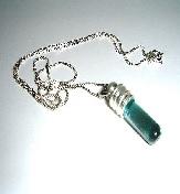 Glass Vial Pendants, Custom Made