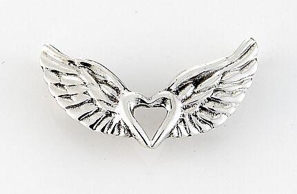 14k gold healing jewelry earrings pendants necklaces and bracelets winged heart pendants aloadofball Gallery