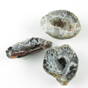 Small Agate Geode Pairs