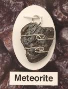 Nantan Meteorite Wire Wrapped Pendants