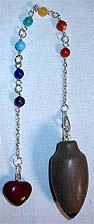 Pendulums: Shiva lingam 7 Chakra