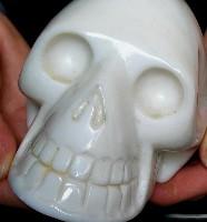 White Jade Skulls