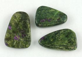 Serpentine/Stichtite Tumbled pieces