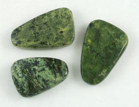Serpentine Tumbled Pieces