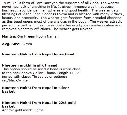 Rudraksha Beads, Malas And Rudraksha Products