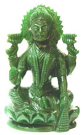 Green Jade Lakshmi
