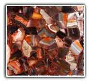 Red Agate Wall Art Tiles