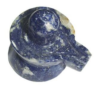 Shivling In Lapis Lazuli