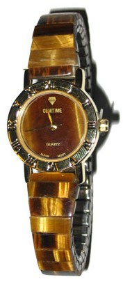 Tiger's Eye Round Ladies Watch