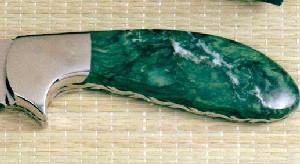 Verdite Knife Handles