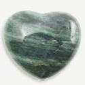 African Jade Puffy Hearts
