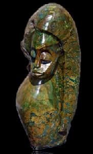 African Verdite Jade Carvings
