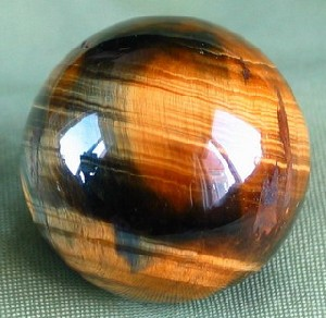 Blue & Gold Tiger Eye Sphere
