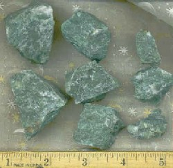 Buddstone, Verdite, African Jade Rough