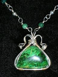 Budstone Verdite Jewelry