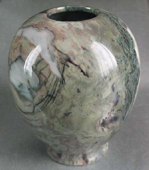 Color Jade Stone Vase