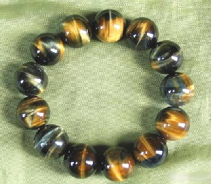 Gold Tiger Eye Bracelet