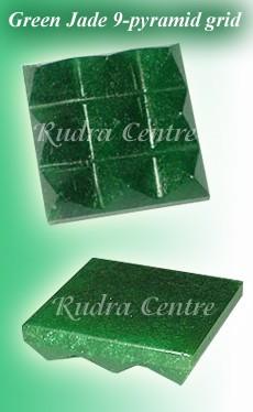 Green Jade 9 Pyramid Grids