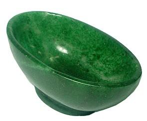 Green Jade Offering Bowls