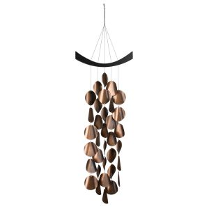 Moonlight Waves Copper Wind Chimes
