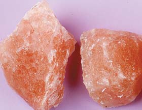 Pink  Halite Natural Pieces