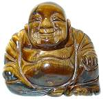 Tigers Eye 2 1/4 INCH Buddha