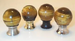 Tigers Eye Cabinet Knobs