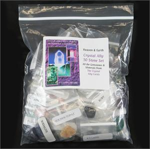 The Crystal Ally Cards 50 Stone Set