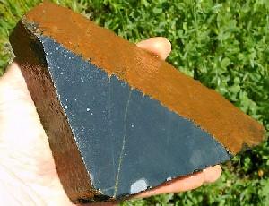 Black Nephrite Jade Slabs
