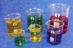 6 Piece Glass Beaker Set
