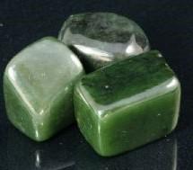 Green Jade Tumbled Stones
