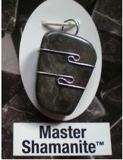 Master Shamanite Wire Wrapped Pendants