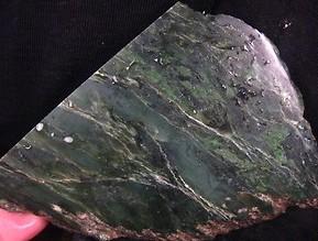 British Columbia Nephrite Jade Slab