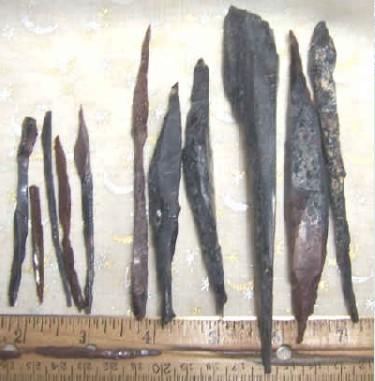 Black, Mahogany, Clear Obsidian Needles