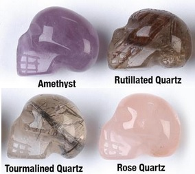 Brazilian Small Crystal Skulls
