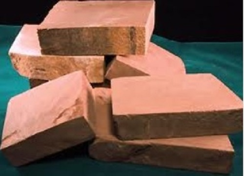Pipestone Catlinite Crystal Soap With Rock
