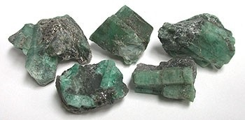 Emerald Crystal Soap With Rock