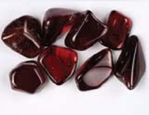 Garnet Crystal Soap With Rock