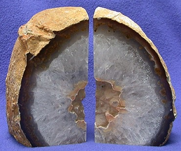 Natural Agate Crystal Soap With Rock