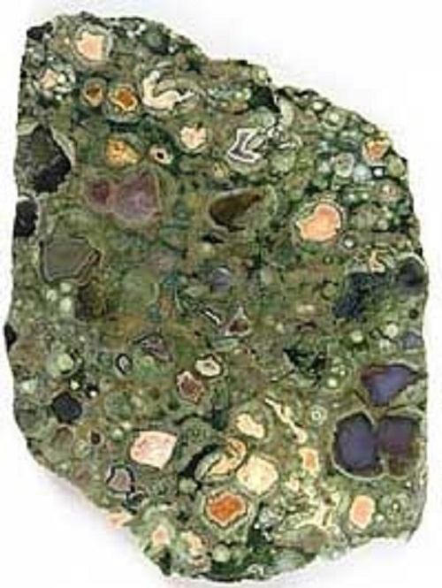 Rainforest Jasper Rhyolite Crystal Soap With Rock