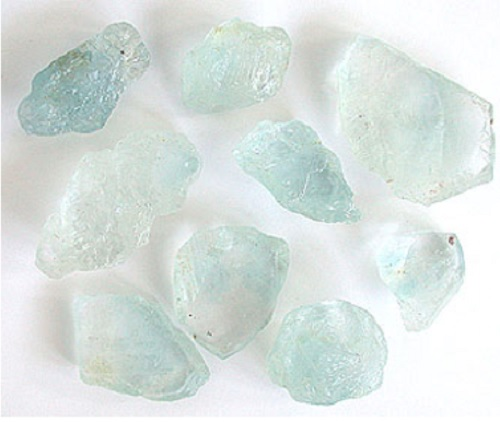 Topaz Crystal Soap With Rock