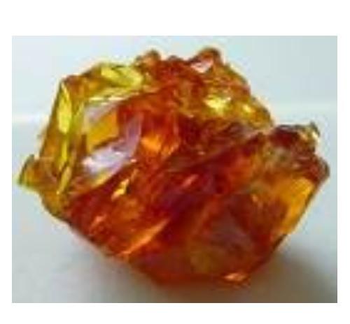 Zincite Crystal Soap With Rock